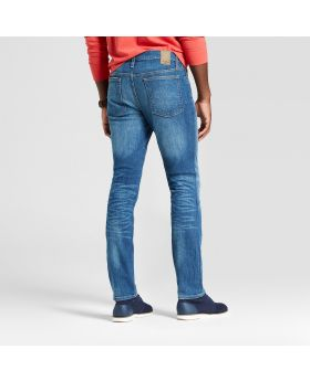 Vaqueros slim fit rectos para hombres con parches - Goodfellow & Co ™ Vintage Dark Wash