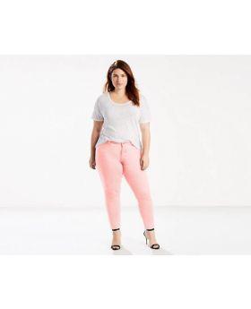 Levis 711 Skinny Jeans Pale Mauve Enjuague 18W