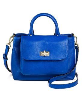 Mini bolso azul para Mujer con Correa cruzada- Merona