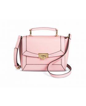 Bolso de Cierre de corchete rosado- Merona
