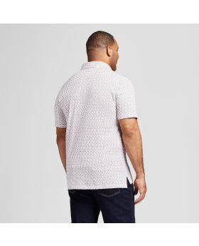 Camisa polo de manga corta estándar y grande para hombres - Goodfellow & Co ™ White