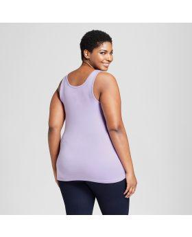 Tanque perfecto para mujeres de talla grande - Ava & Viv ™ Lavender