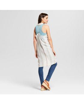Chaquetas de kimono con chaleco a rayas para mujeres - Universal Thread ™ Cream