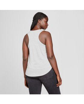 Camiseta sin mangas con gráfico de escorpión y talla grande para mujer - Modern Lux (Juniors ') Gris
