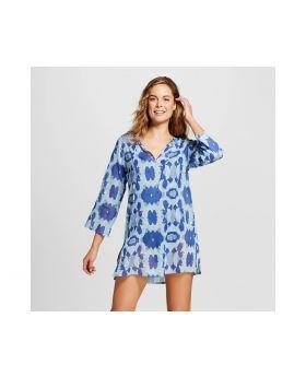 túnica azul Hillary - flora de RockFlowerPaper