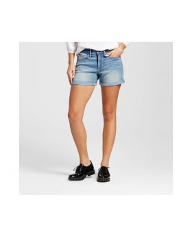 Pantalon corto de mujer medio de lavado - Mossimo ™