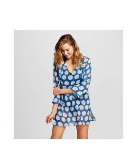 túnica erizo de mar azul de mujer - la flora de RockFlowerPaper