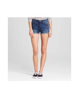 Pantalon corto de mujer con lavado oscuro - Mossimo ™