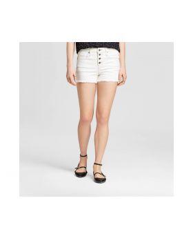Pantalones cortos de gran altura de la Mujer - Mossimo ™ Blanco