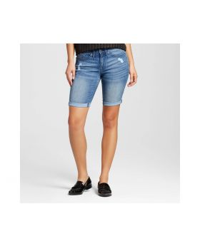 Bermuda Short para mujer- Mossimo ™ Medium Destructed