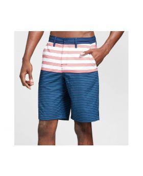 Pantalones cortos de rayas híbridos de Hombre Azul - Trinity colectiva