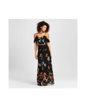 vestido maxi Negro para mujer - Xhilaration ™ (Juniors)