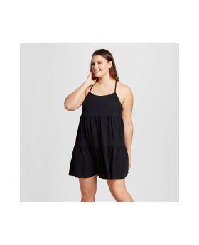 Blusa Tamaño Plus para mujer más Challis Chemise - Xhilaration ™