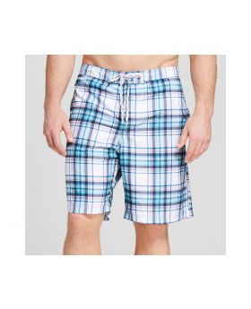 Pantalon de playa tela escocesa blanca - Merona ™