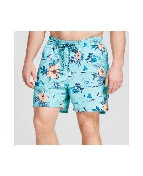 Pantalon corto verde para hombres de playa - Merona ™