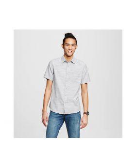 Camisa Gris manga corta con botones para hombre - Mossimo Supply Co. ™