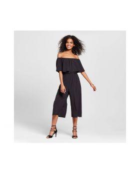 Vestido De mujeres con hombros fuera - Le Kate® (Juniors') Negro
