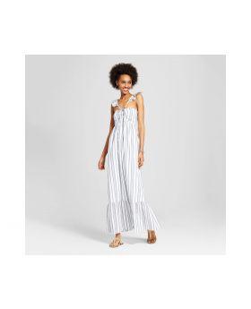 Vestido para mujer de cuello alto Maxi - Xhilaration ™ (Juniors) Blanca