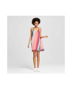 Vestido suelto con rayas - Xhilaration ™ (Juniors) Berry