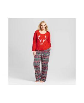 Conjunto de pijama para Mujer Tamaño Plus de 2 piezas  - Wondershop ™